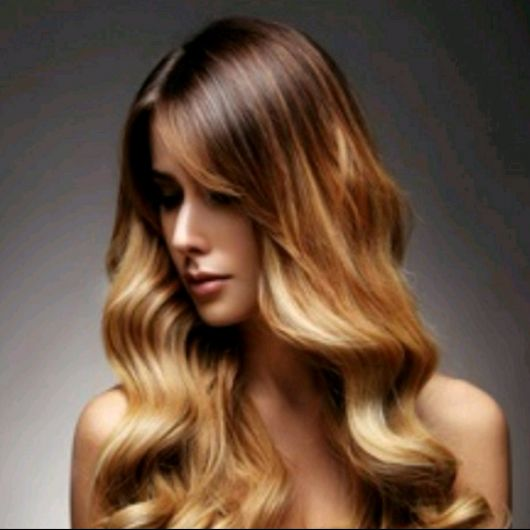 18 inch Ombre Balayage Clip In Human Hair Extensions 7Pcs 14 Clips T2 18613